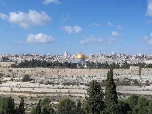 Welcome to Jerusalem!