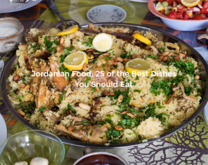 Click on the image and discover the foods of Jordan